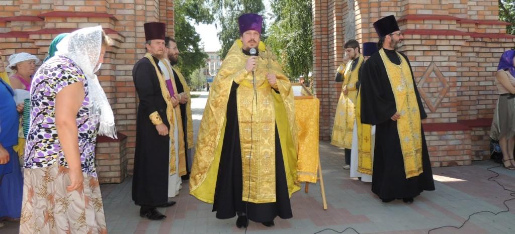 торжественные мероприятия посвященные Дню 1000-летия преставления равноапостольного князя Владимира.