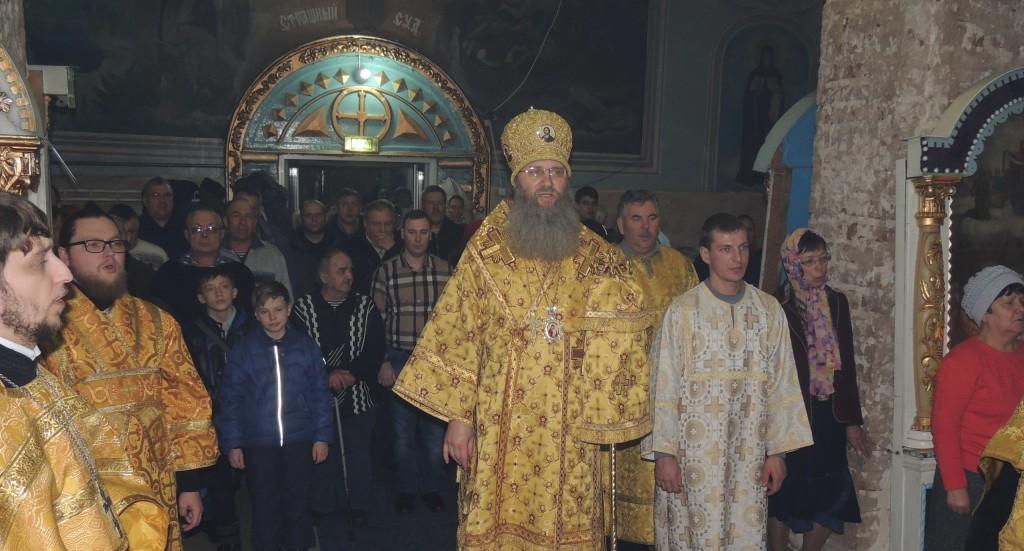 Всенощное бдение в Покровском кафедральном соборе г. Урюпинска.