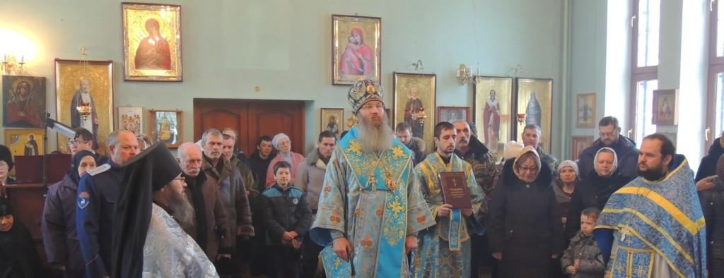 Божественная литургия в Гусевском женском монастыре в честь Ахтырской иконы Божией Матери.