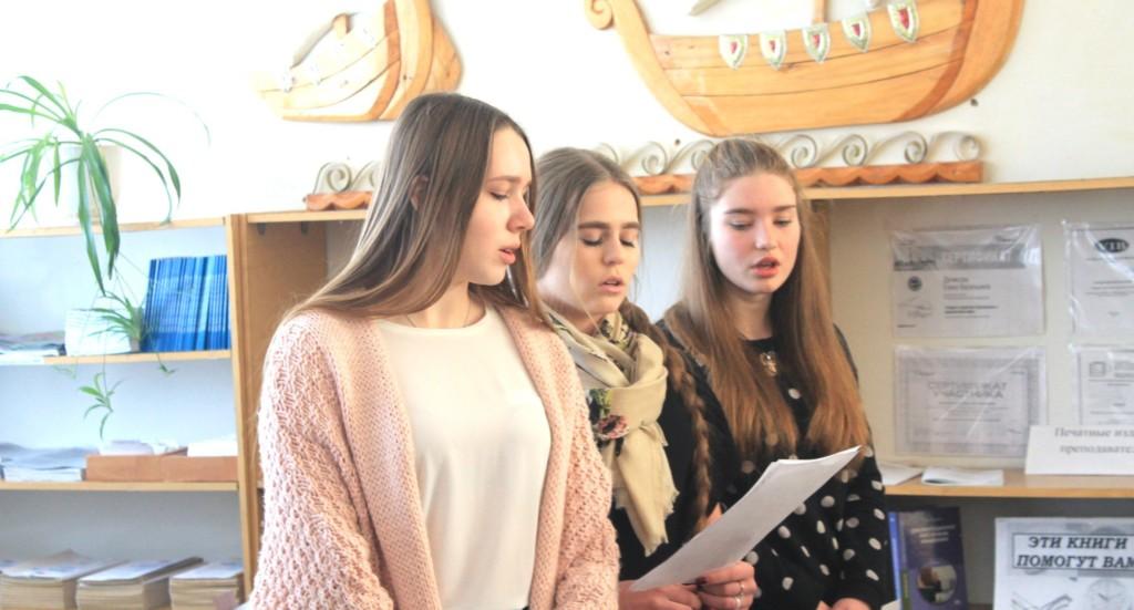 Концерт в честь Дня студенчества и дня памяти святой мученицы Татьяны Римской.