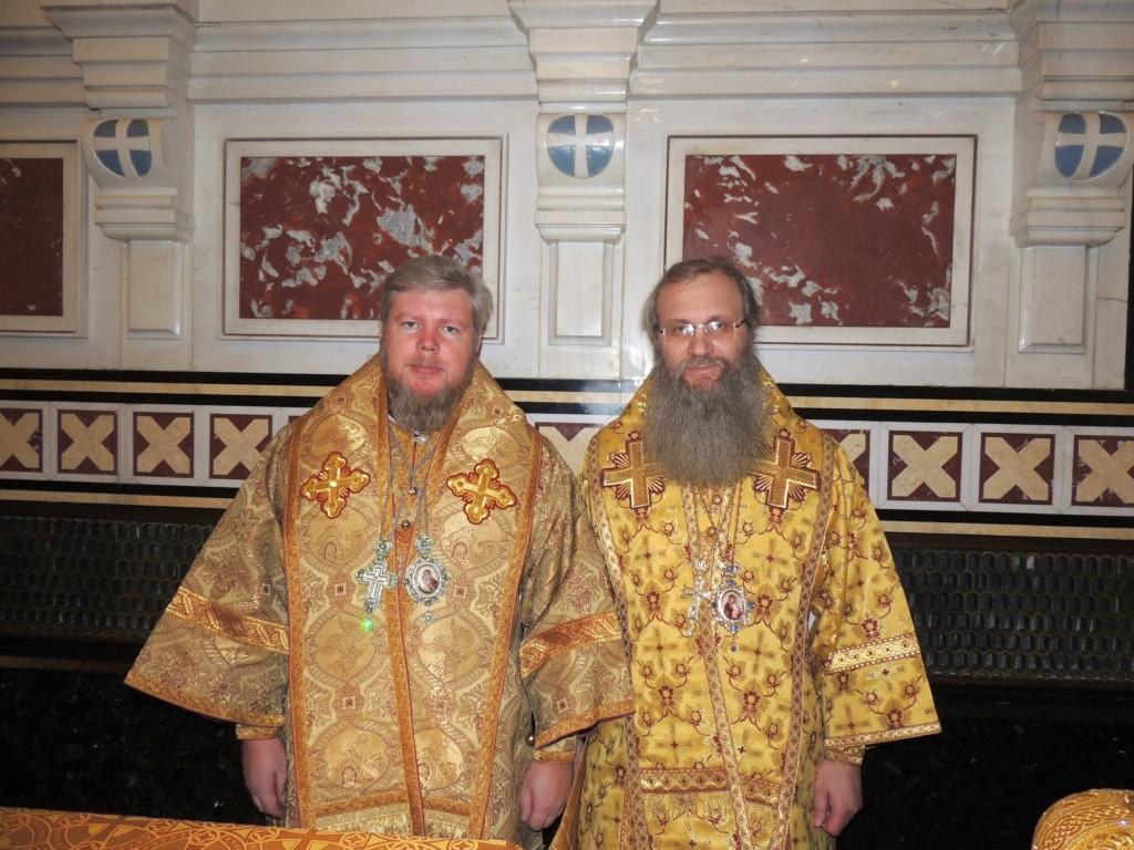 Торжества по случаю 8-й годовщины интронизации Святейшего Патриарха Кирилла на Московский Патриарший престол.