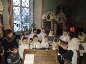 Детская Божественная Литургия в кафедральном соборе Покрова Пресвятой Богородицы