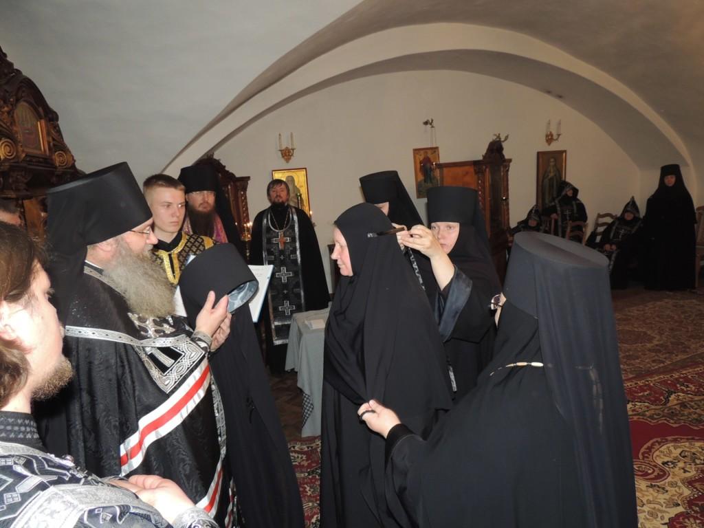 Владыка Елисей совершил монашеский постриг в Усть-Медведицком Спасо-Преображенском женском монастыре г. Серафимовича.