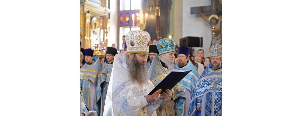Слово архимандрита Елисея (Фомкина) при наречении во епископа Урюпинского и Новоаннинского.