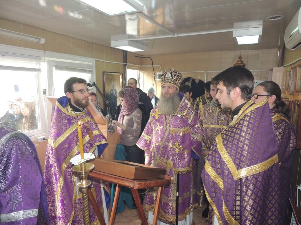 Чин Божественной литургии Преждеосвященных даров в храме Рождества Иоанна Предтечи г. Урюпинска.