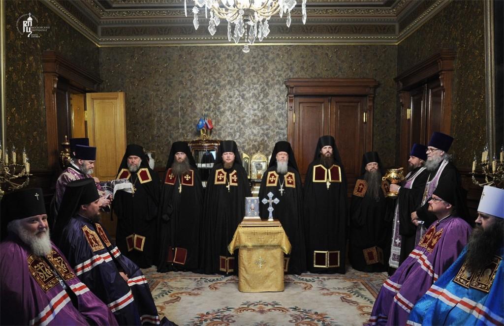 Поздравление епископа Елисея с 5-ти летием архиерейской хиротонии.