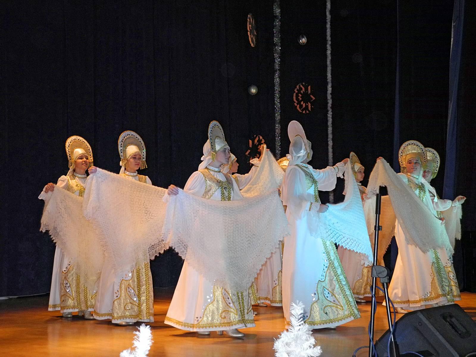 «Рождественские встречи» в Урюпинском городском центре культуры.