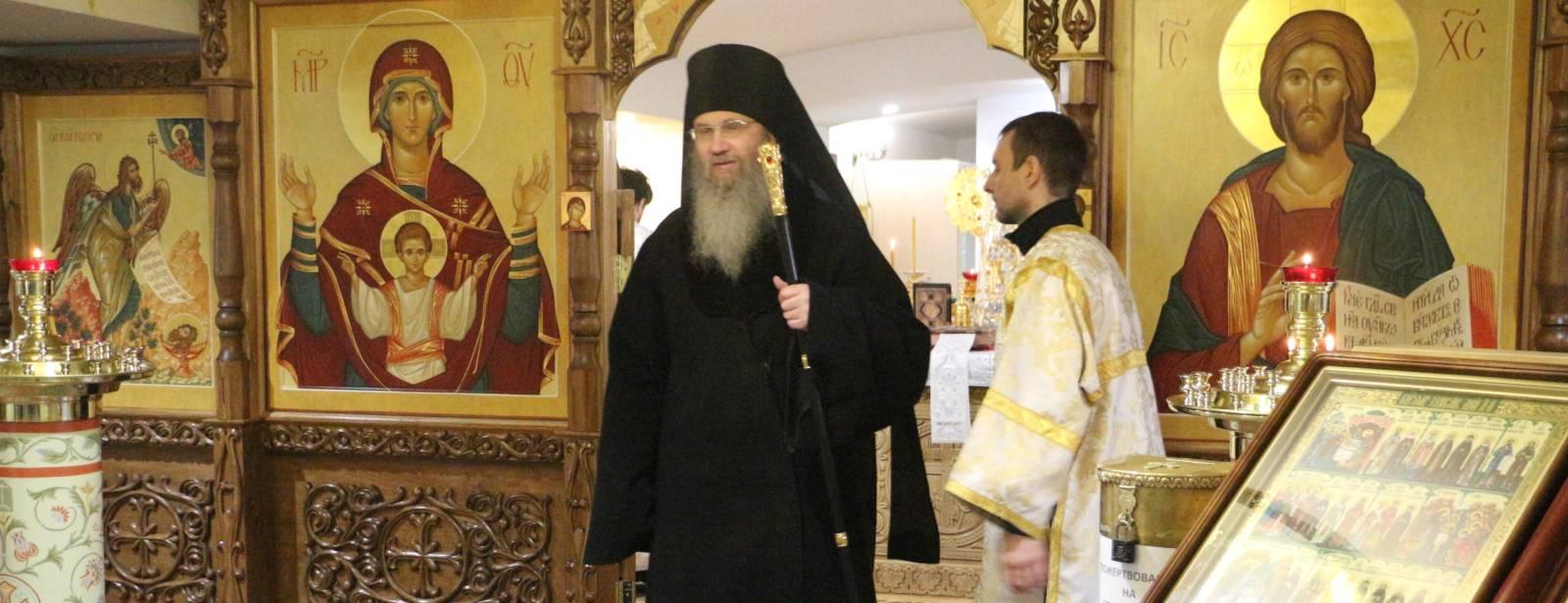 Крещенский сочельник в соборном храме свт. Феофана Затворника г. Новоаннинский.