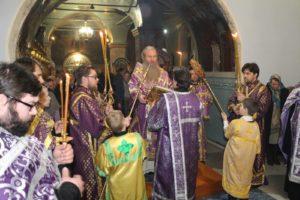 Всенощное бдение в канун 1-й недели Великого поста в Покровском соборе г. Урюпинска