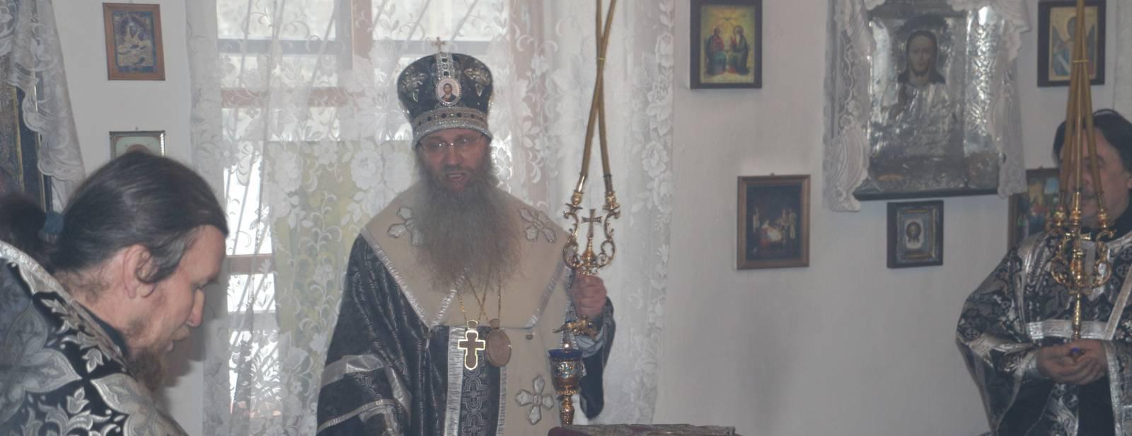 Божественная литургия Преждеосвященных Даров в часовне в честь Вознесения Господня г.Урюпинска.