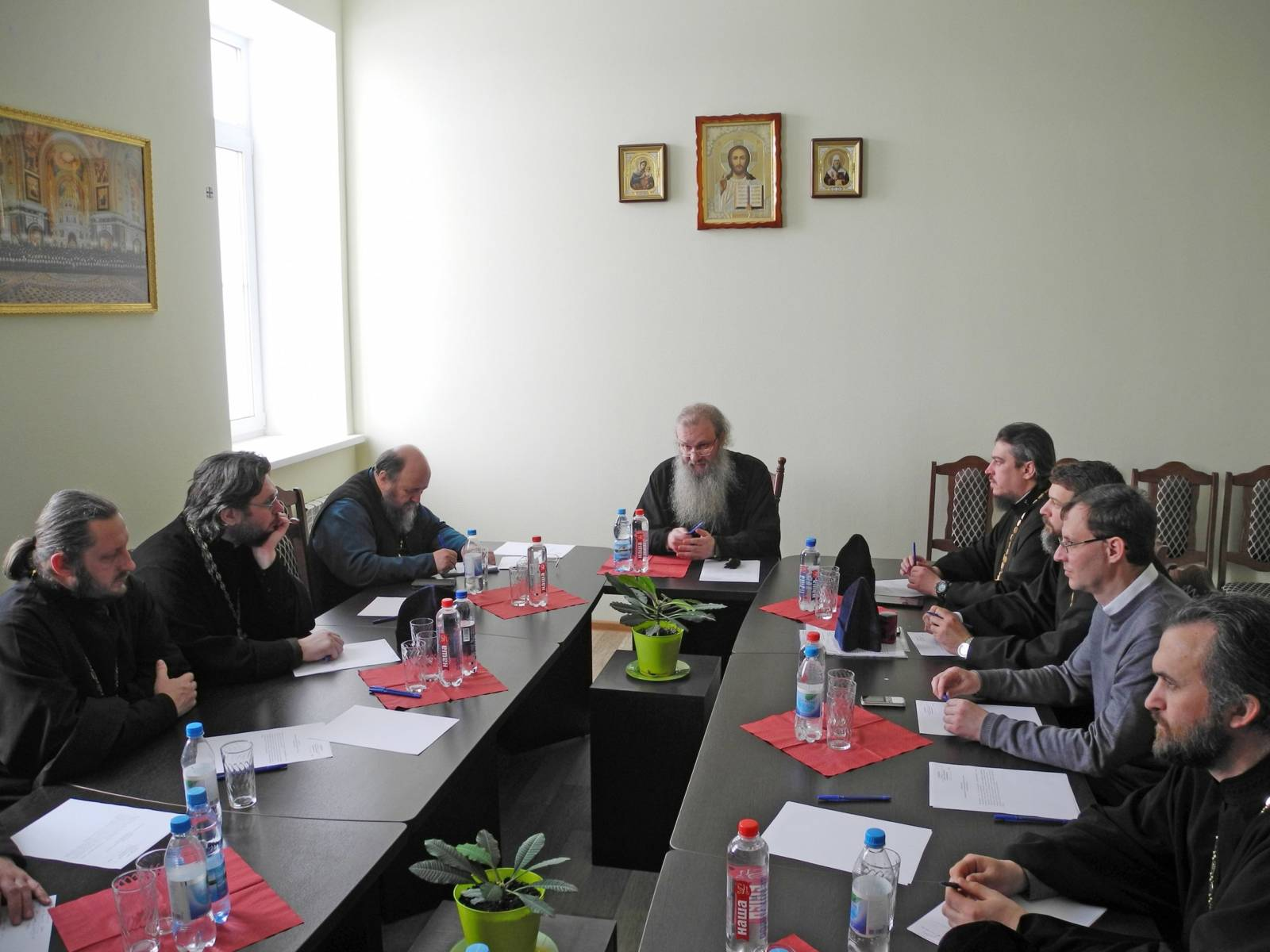 Расширенное заседание епархиального совета Урюпинской и Новоаннинской епархии.