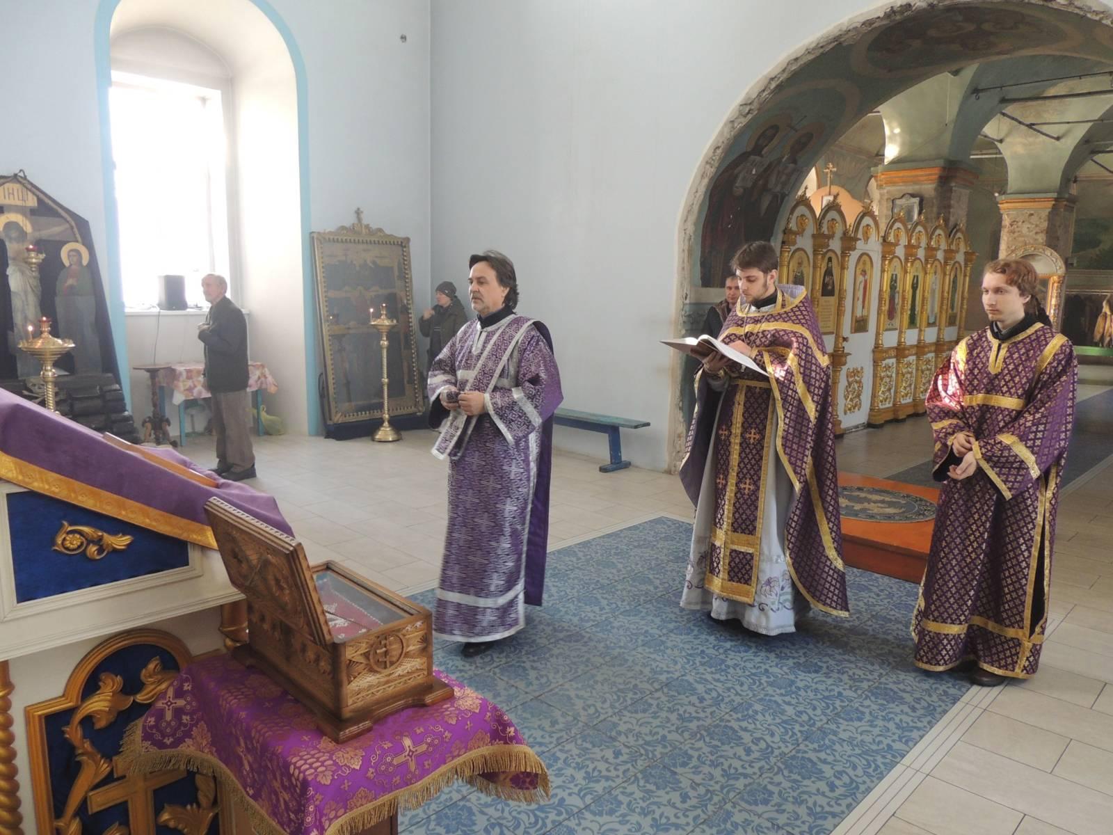 Панихида по жертвам пожара в ТЦ г. Кемерово.