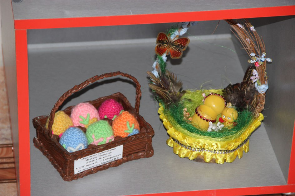 Выставка изобразительного и декоративно-прикладного искусства «Пасхальное чудо».
