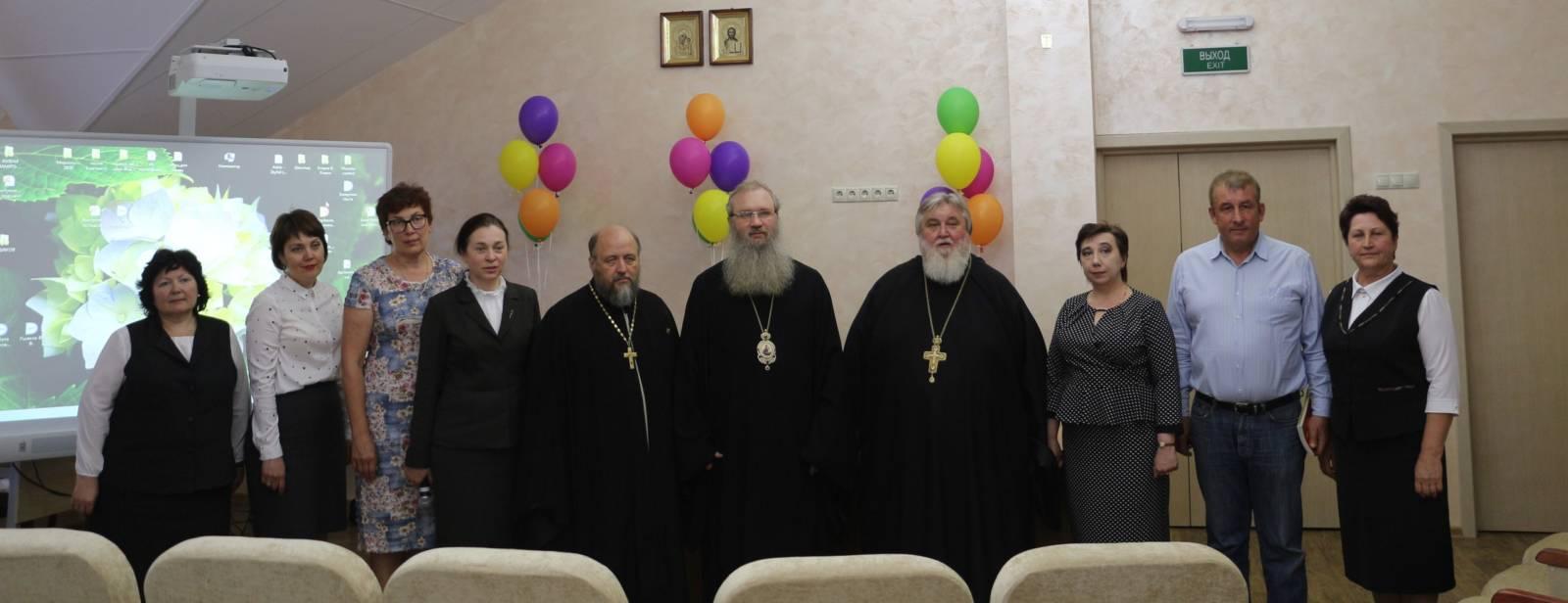 Епископ Елисей посетил православную гимназию в г. Фролово.
