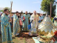 В День празднования иконы Божией Матери Всецарица