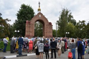 Благодарственный молебен по случаю 400-летия города Урюпинска