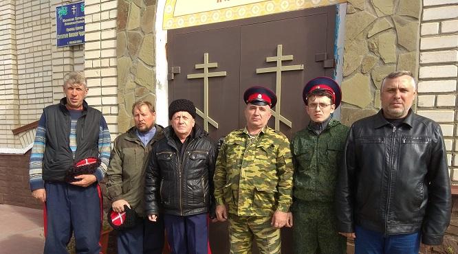 Жизнь общины православных казаков.
