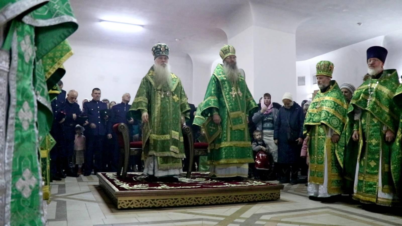 Престольный праздник прп. Мартирия Зеленецкого.