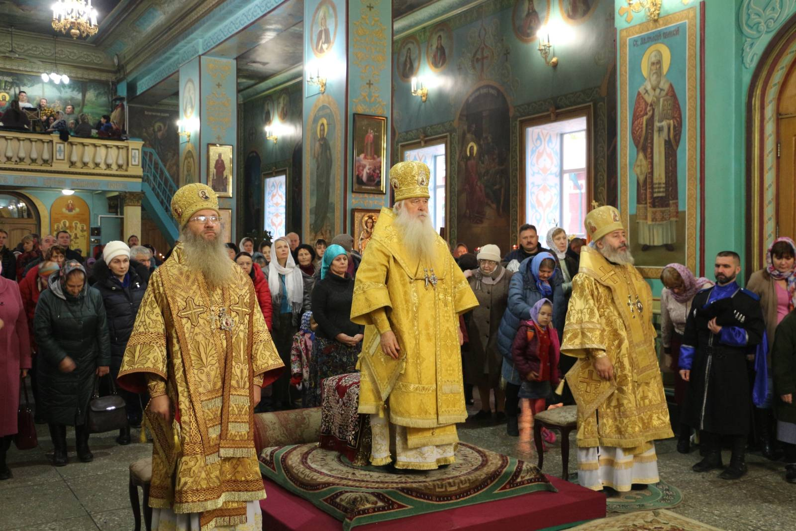 Молитвенно был отмечен день рождения митрополита Волгоградского и Камышинского Германа.