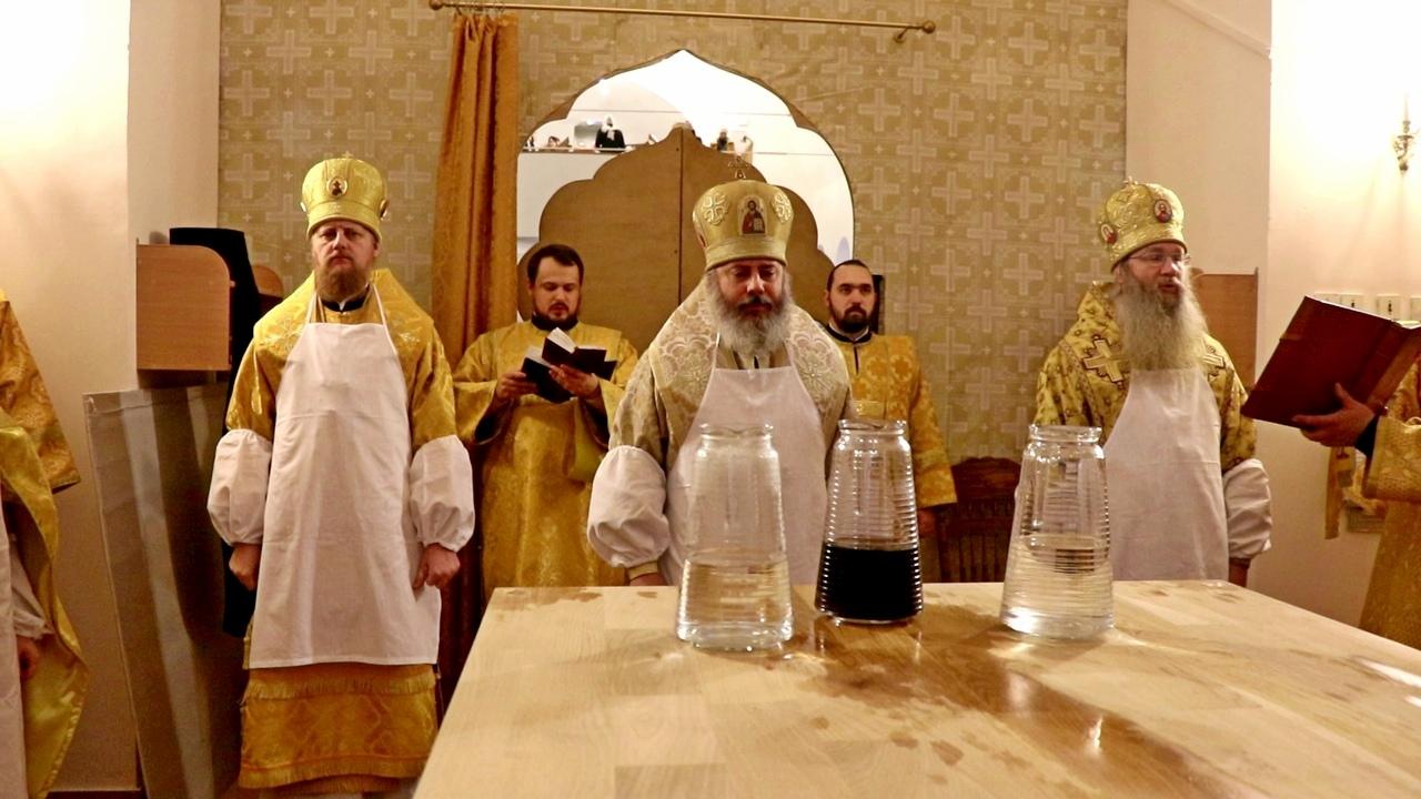 Великое освящение Соборного храма Иоанна Богослова в городе Волжском.