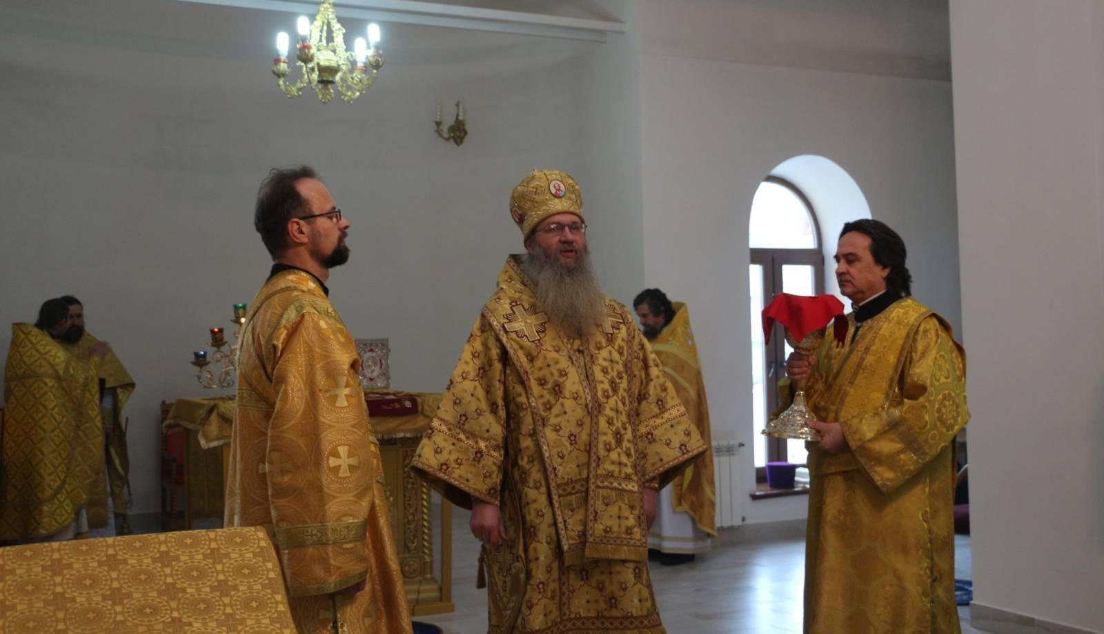 В День памяти Свт. Спиридона, еп. Тримифунтского, чудотворца.