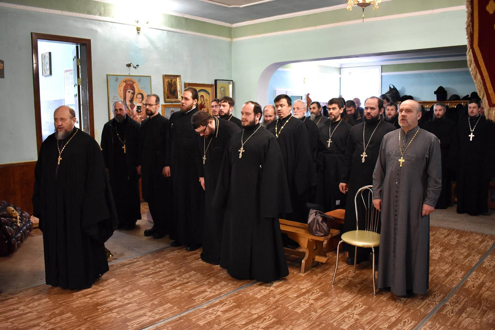Епархиальное собрание духовенства Урюпинской епархии.