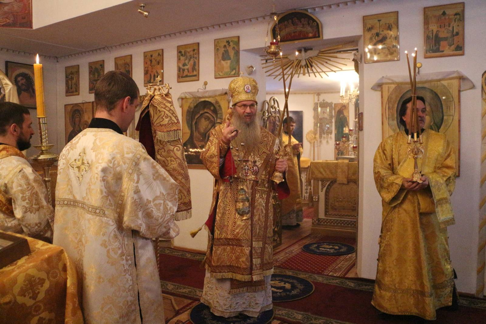 В День памяти Святых праотец.