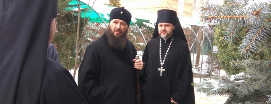 Митрополит Волгоградский и Камышинский Феодор прибыл в Волгоград.