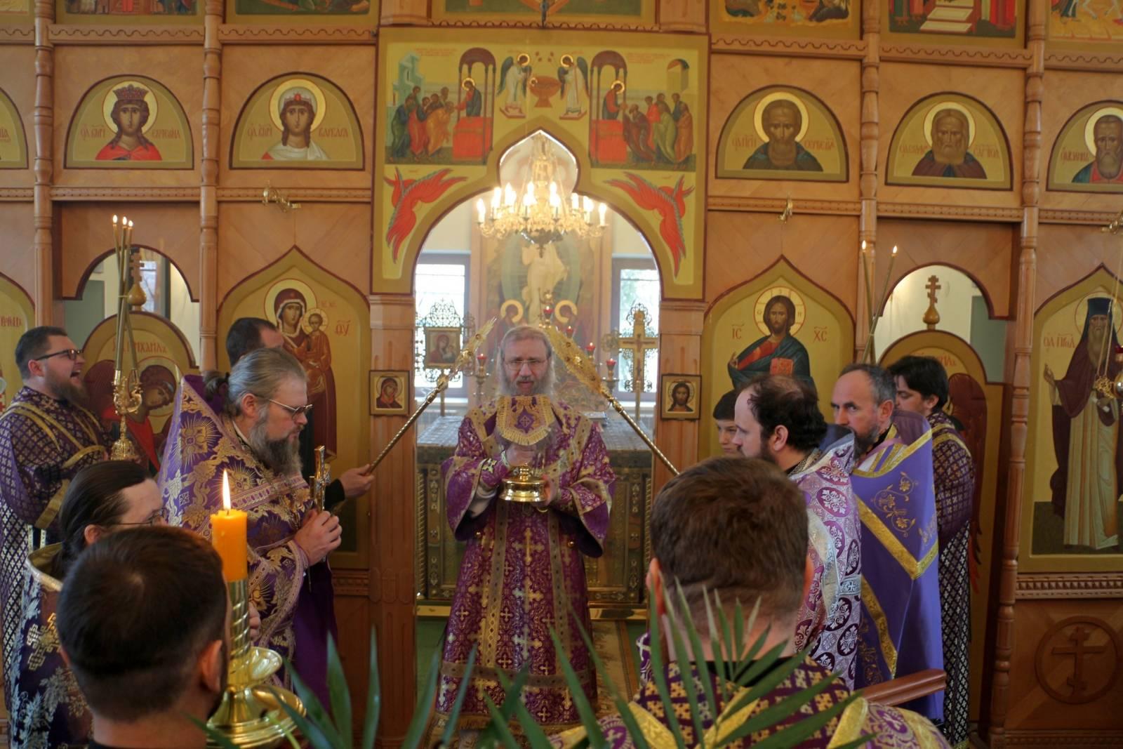В День памяти Иконы Божией Матери, именуемой «Державная».