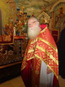 Фоторепортаж памяти иерея Петра Лагутина - служение в Покровском соборе г. Урюпинска