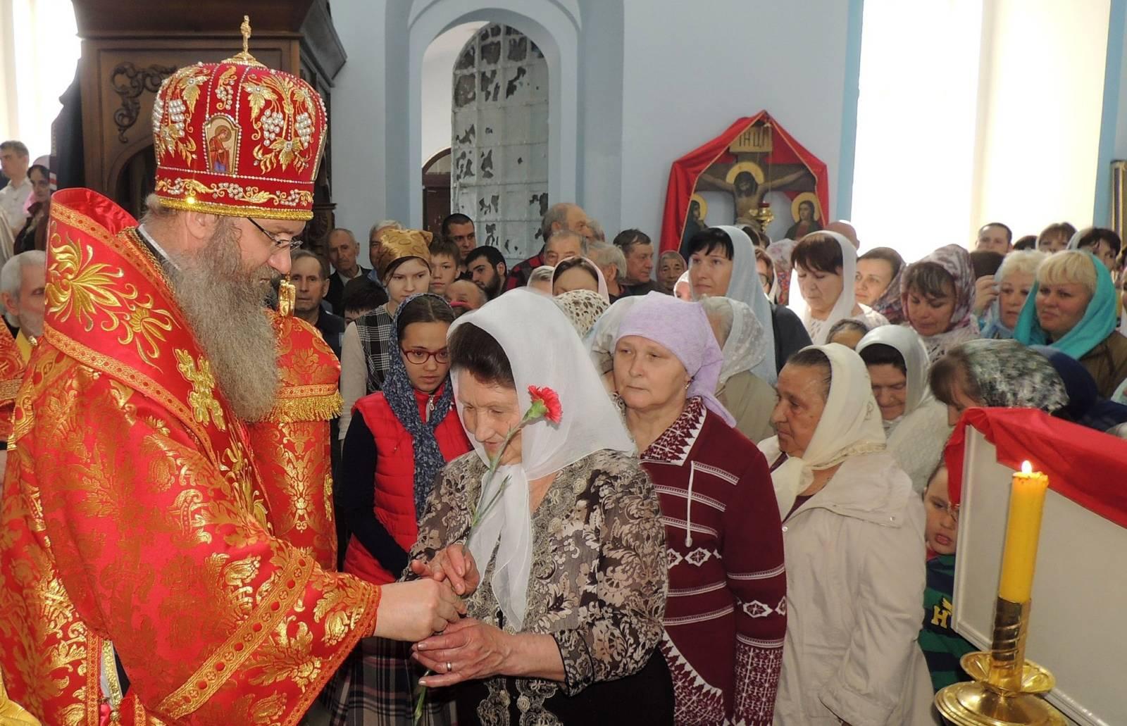 Поздравление епископа Урюпинского и Новоаннинского Елисея в день памяти святых жен-мироносиц.