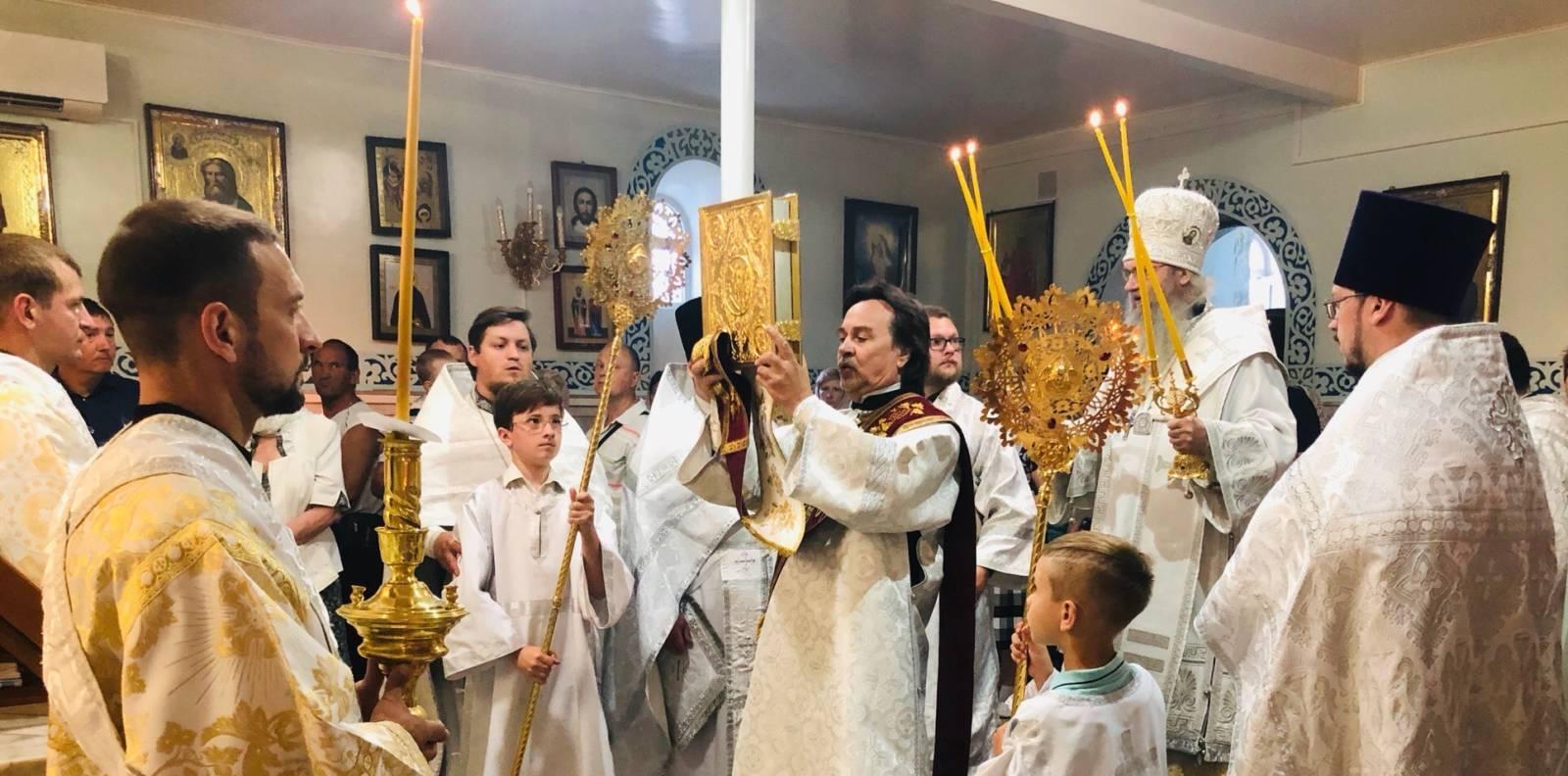 В неделю 7-ю по Пасхе, святых отцев I Вселенского Собора.