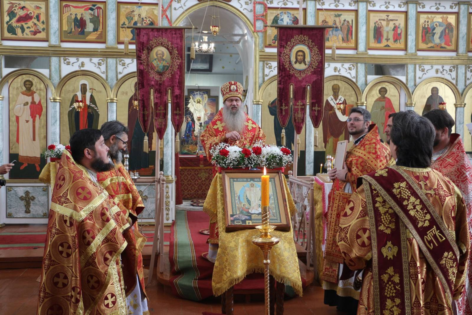 В день памяти сщмч. Ермогена, патриарха Московского и всея России, чудотворца.