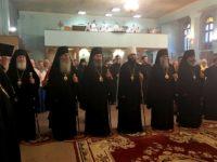 Всенощное бдение в канун дня памяти священномученика Николая в Свято-Духовом монастыре
