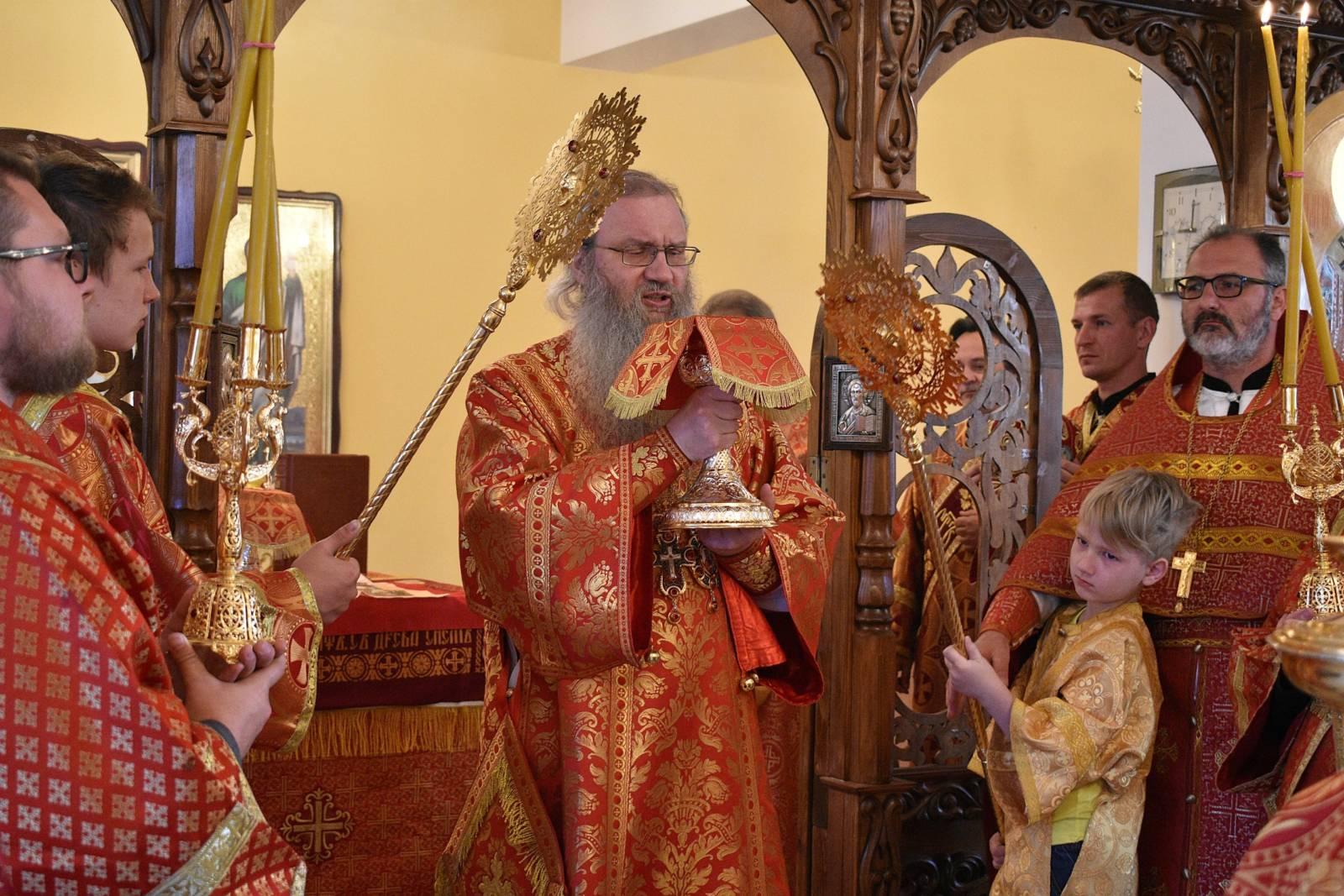 В Отдание праздника Пасхи, Предпразднство Вознесения Господня.