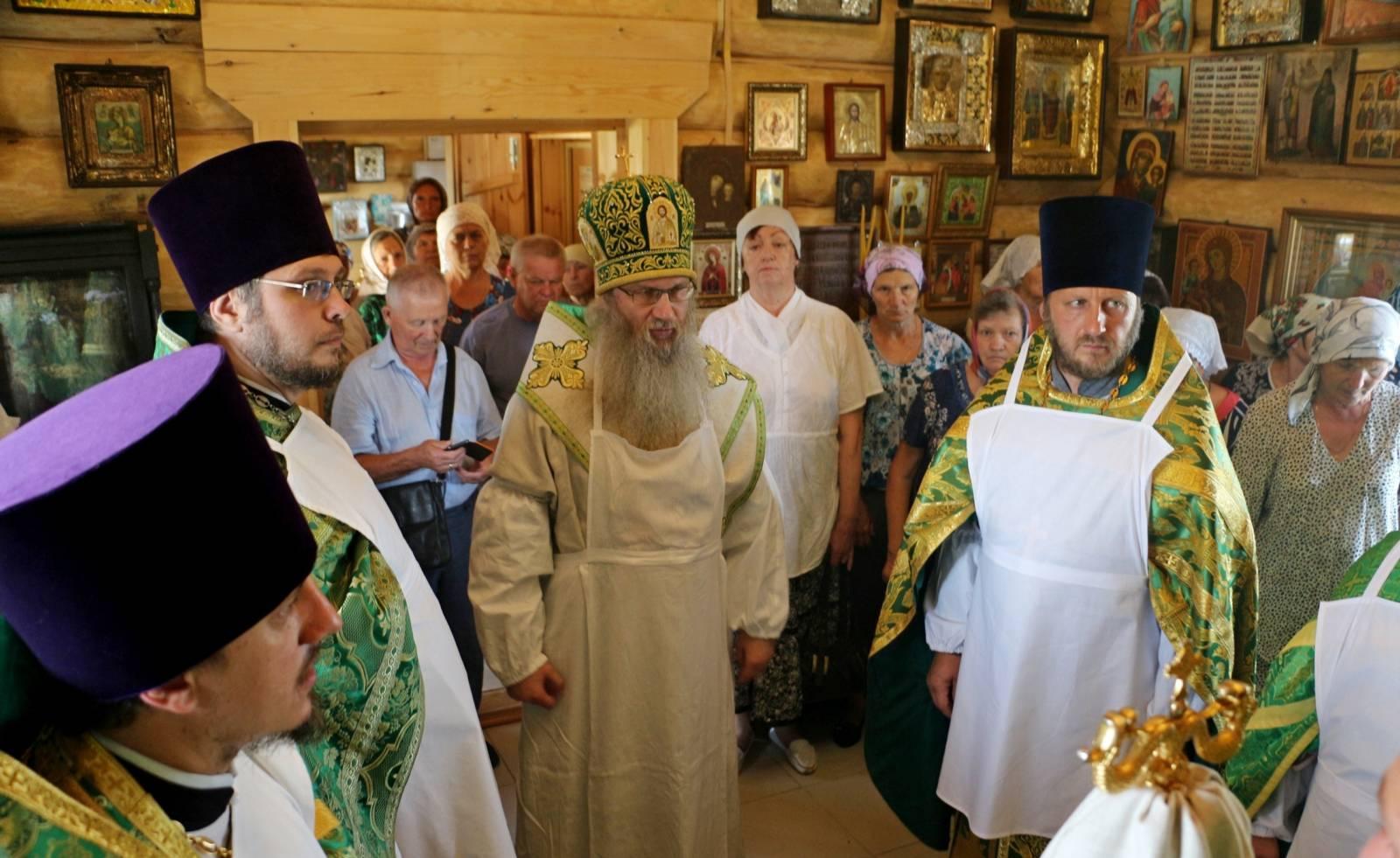 Освящение храма Покрова Пресвятой Богородицы, ст. Букановская.