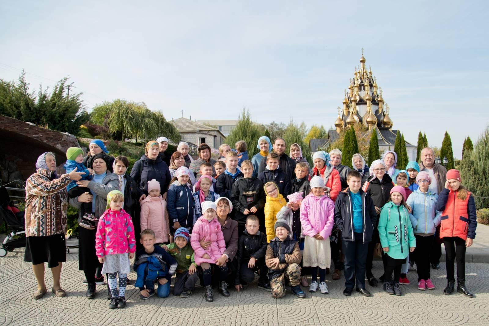 Паломническая поездка учеников воскресной школы