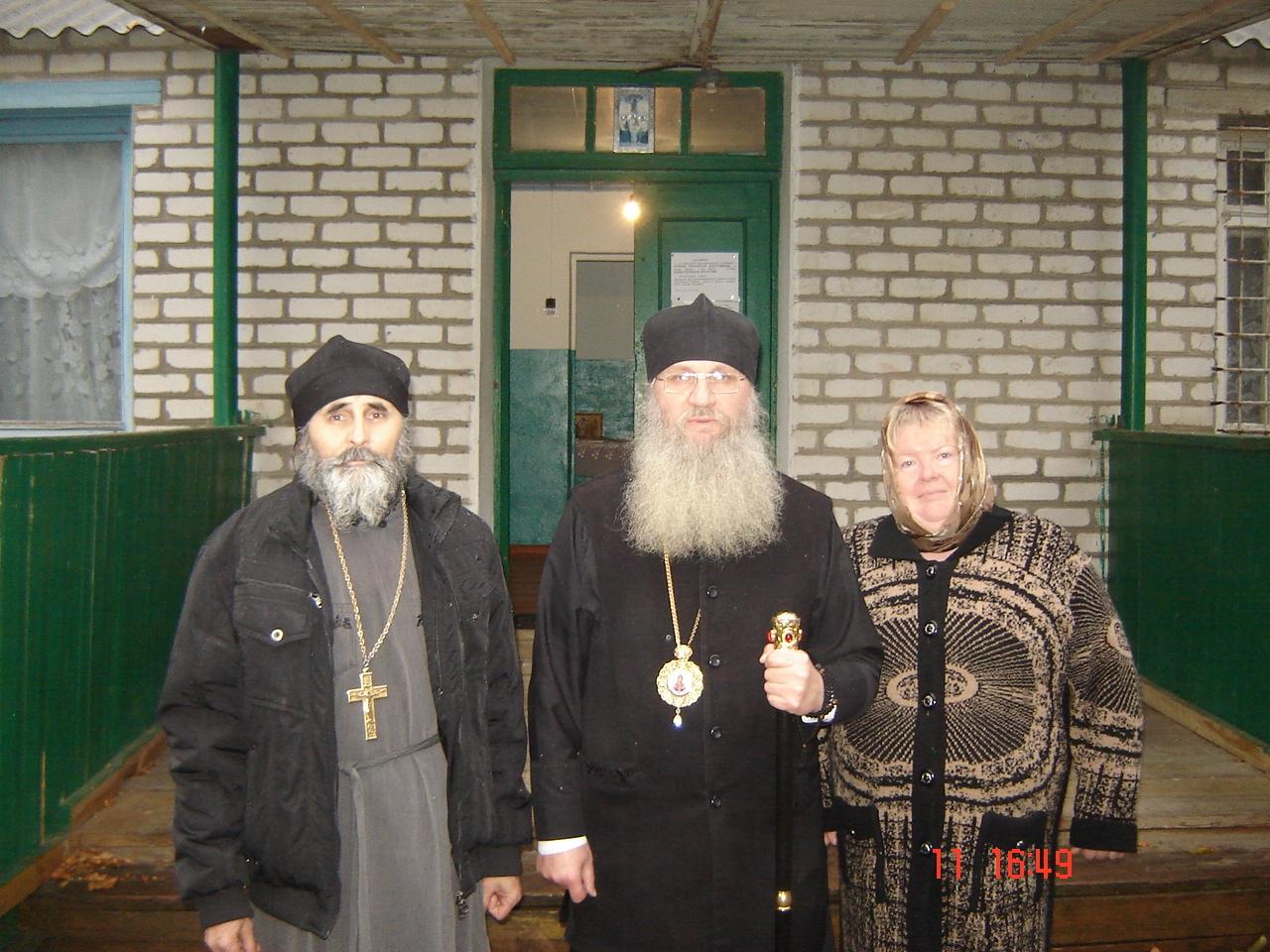 Владыка посетил Пронинский приход
