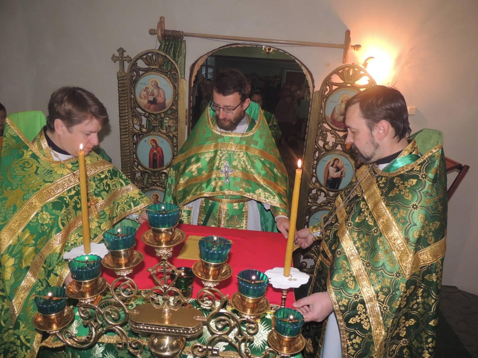 Престольный праздник храма прп. Сергия Радонежского (видео)