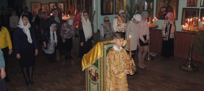 Новогодняя Литургия в Урюпинске