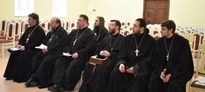 Собрание казачьих духовников