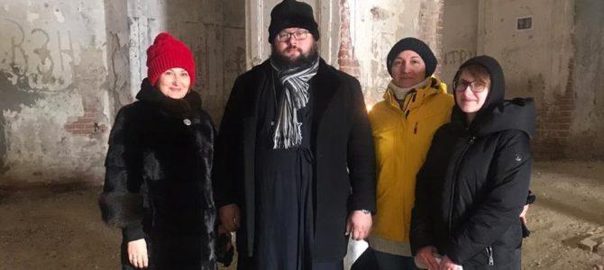 Ростовские гости в тишанском храме