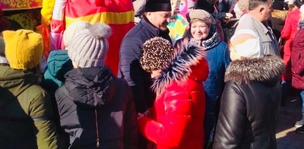 Масленичные гулянья в Жирновске